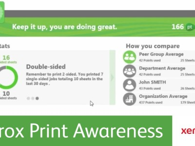 xerox print awareness