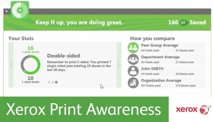 xerox print awareness